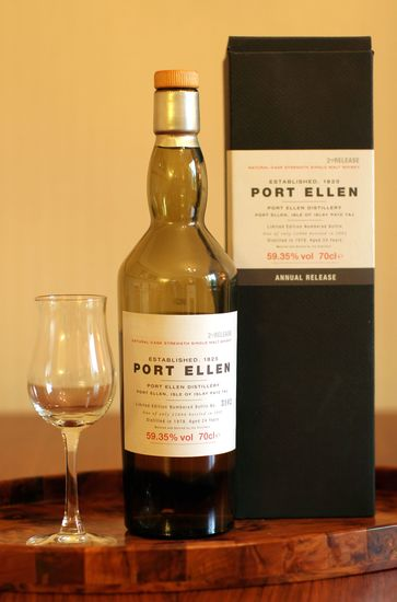PORT ELLEN officiel 2nd Release 1978 24 ans 59,35 %