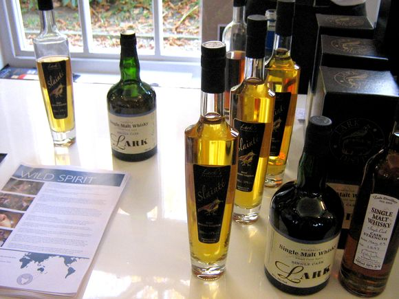 whiskies australiens à Paris salon Whisky live